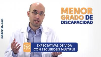 Esclerosis múltiple: expectativas de vida