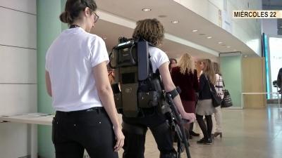 Presentación del Exoesqueleto Exo GT en la Reunión Anual de la SEN de 2017